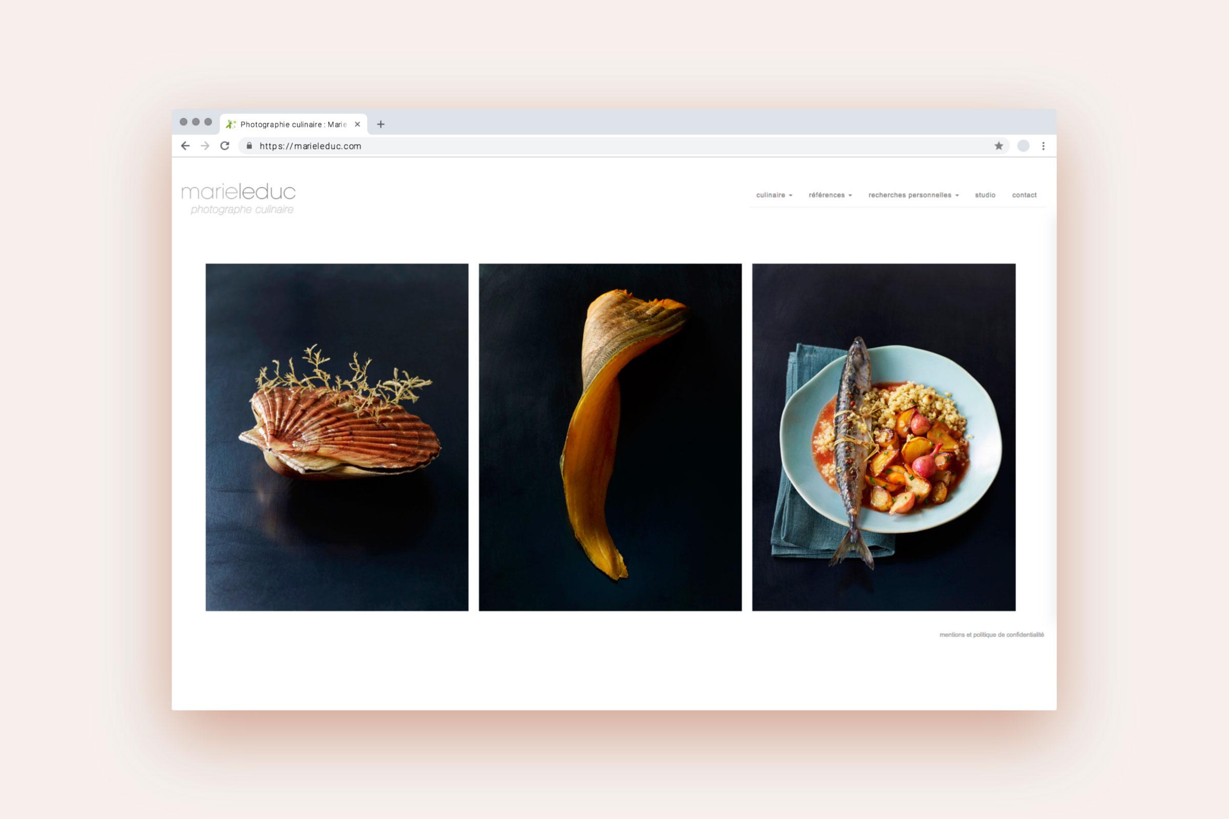 Kulinarische Stillleben von Marie Leduc