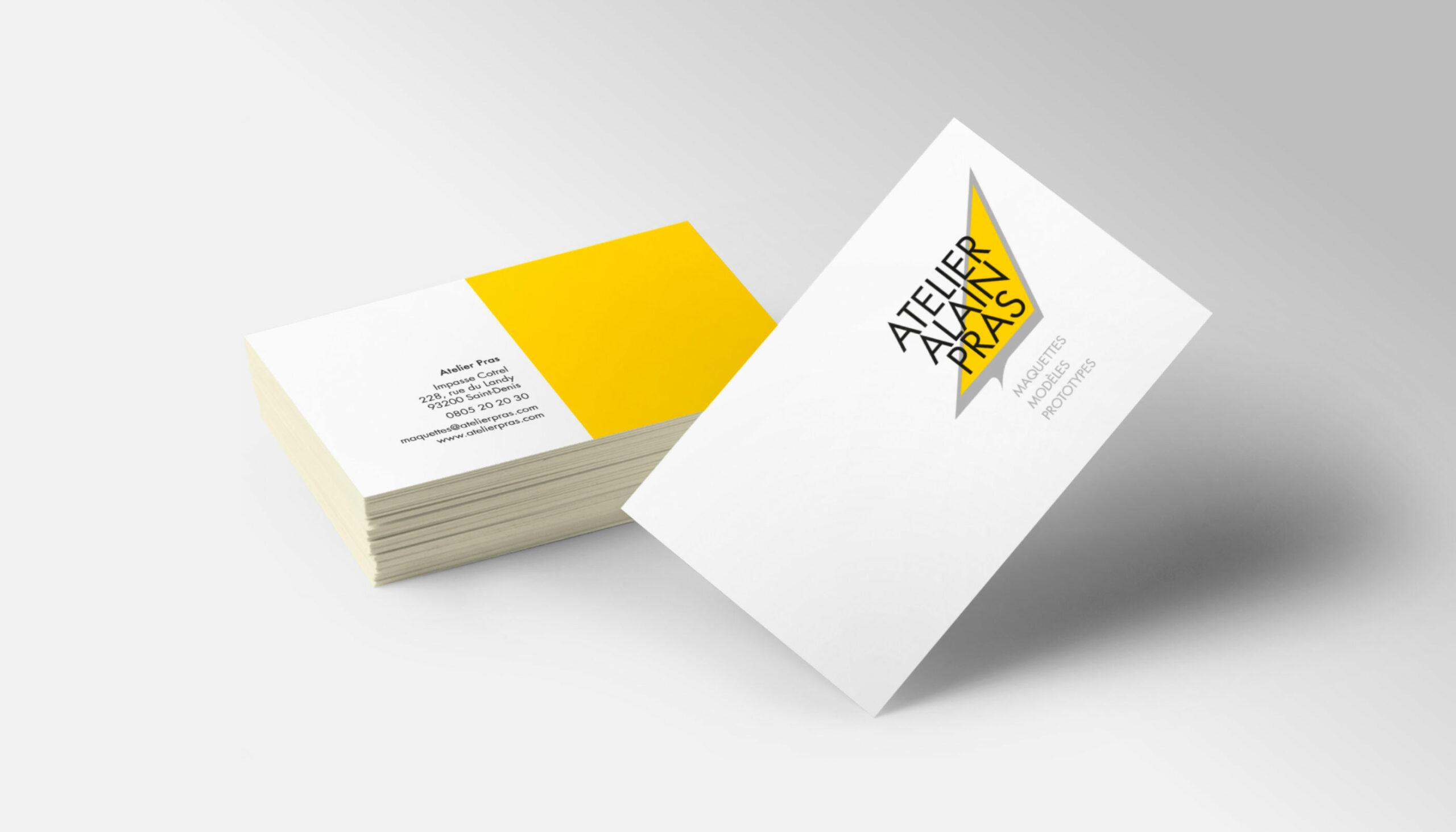 Visitenkarten Atelier Pras