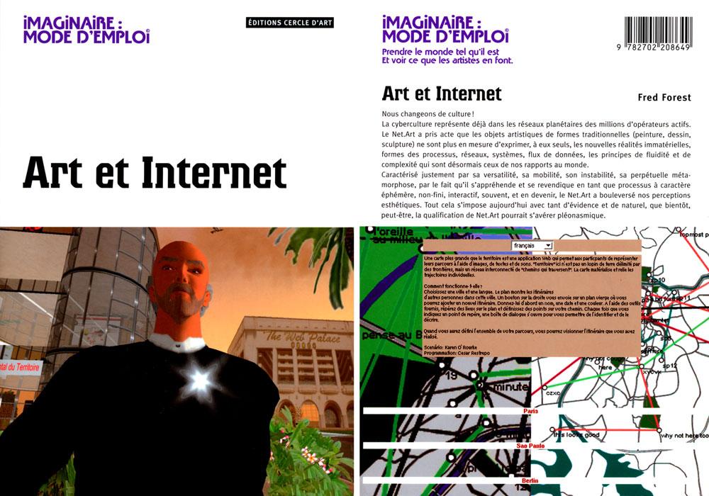 Cover Art et Internet von Fred Forest