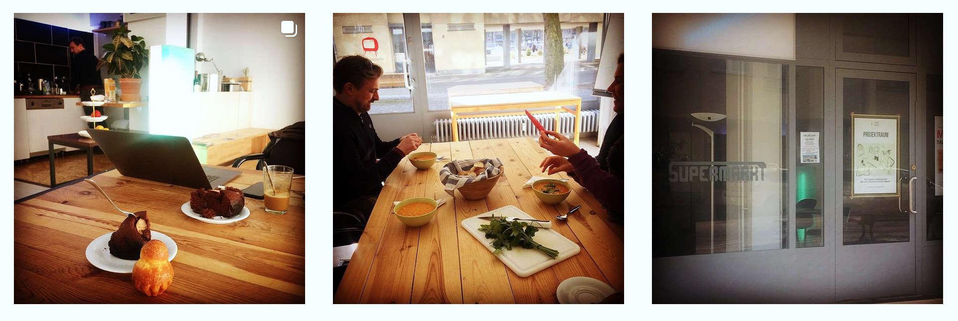 Instagram Motive - Frühstück und Lunch im Supermarkt Berlin ©Stéphanie Boisset