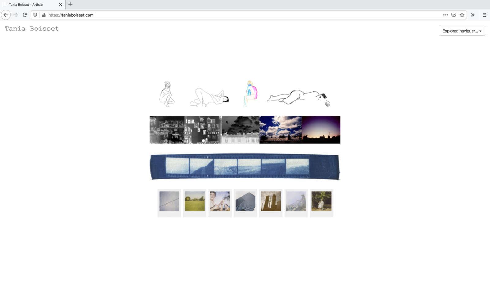 Website von Tania Boisset