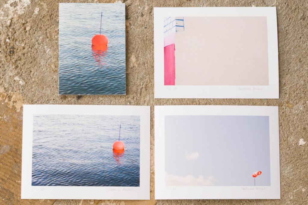 Fotobuch und drei Abzüge