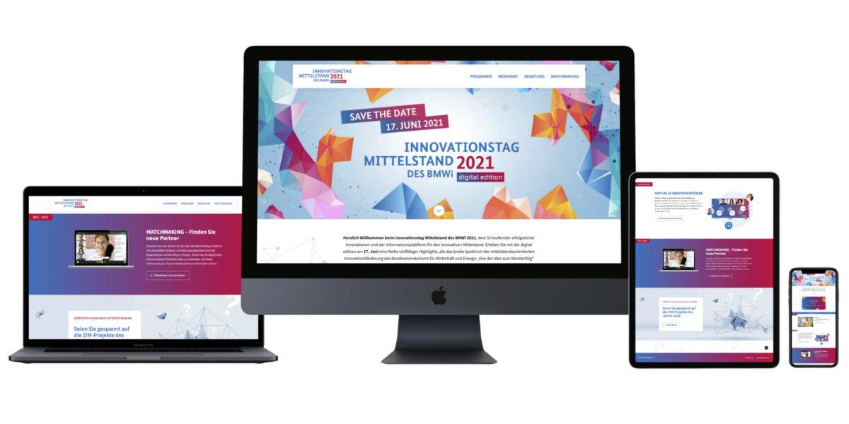 Responsive Website: Innovationstage Mittelstand des BMWi
