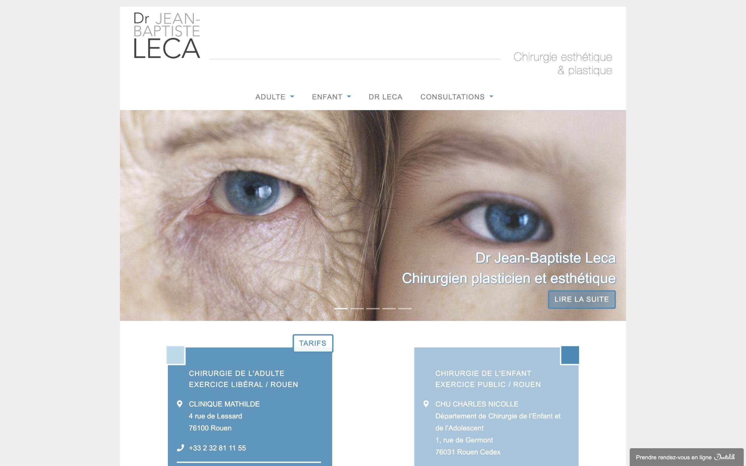Index Seite Dr. Jean-Baptiste Leca